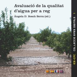 Avaluació de la qualitat d'aigua per a reg.