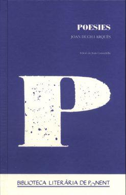 Poesies. Joan Duch i Arqués.