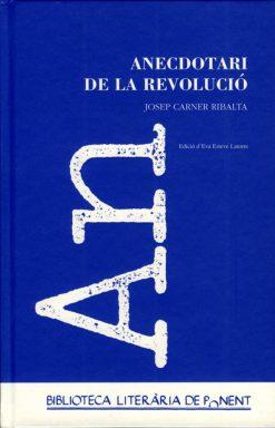 Anecdotari de la Revolució. Josep Carner.