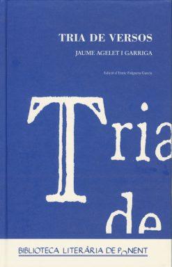 Tria de versos. Jaume Agelet i Garriga.