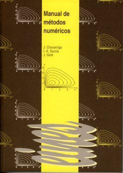 Manual de métodos numéricos.