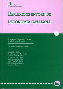Reflexions entorn de l'economia catalana.