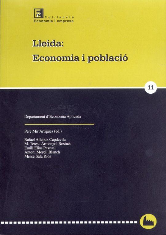 Lleida: Economia i població.