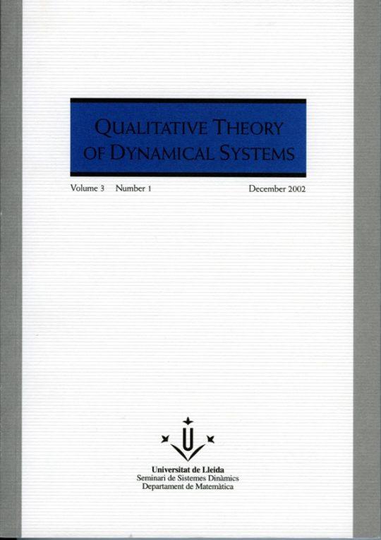 QTDS. Vol. 3 - Number 1.