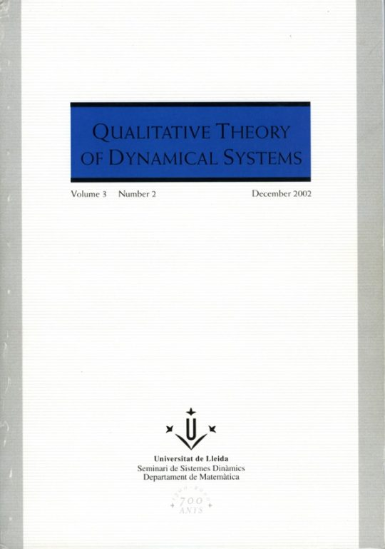 QTDS. Vol. 3 - Number 2.