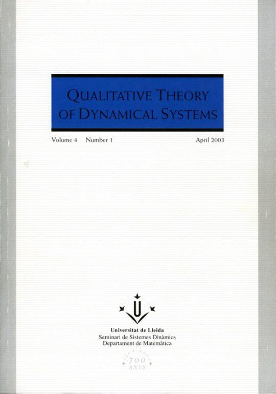 QTDS. Vol. 4 - Number 1.