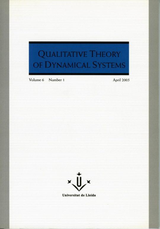 QTDS. Vol. 6 - Number 1.