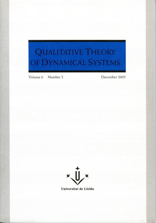 QTDS. Vol. 6 - Number 2.