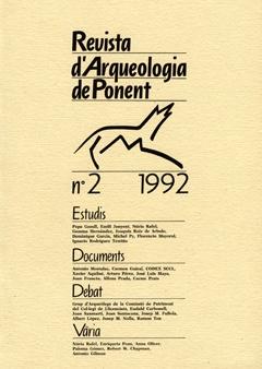 Revista d'Arqueologia de Ponent. Núm. 2.