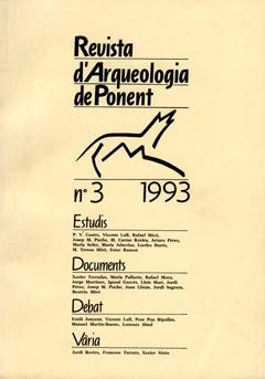 Revista d'Arqueologia de Ponent. Núm. 3.