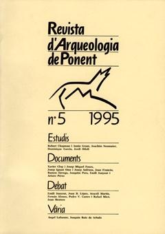 Revista d'Arqueologia de Ponent. Núm. 5.