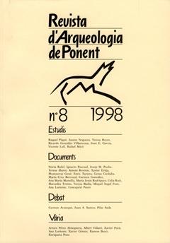 Revista d'Arqueologia de Ponent. Núm. 8.