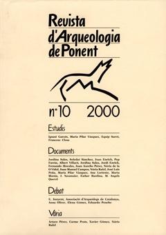 Revista d'Arqueologia de Ponent. Núm. 10.