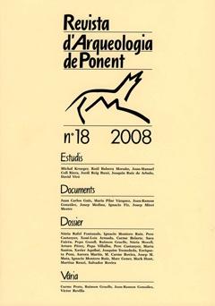 Revista d'Arqueologia de Ponent. Núm. 18.