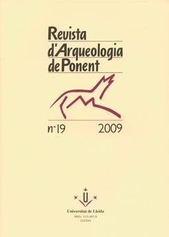 Revista d'Arqueologia de Ponent. Núm. 19.