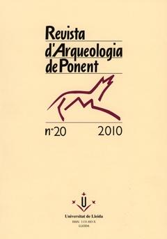 Revista d'Arqueologia de Ponent. Núm. 20.