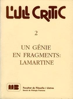 Un génie en fragments: Lamartine.