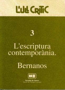 L'escriptura contemporània. Bernanos.