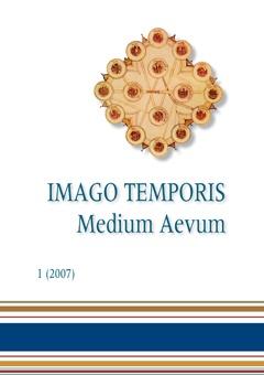Imago Temporis. Medium Aevum. Núm. 1 (2007)