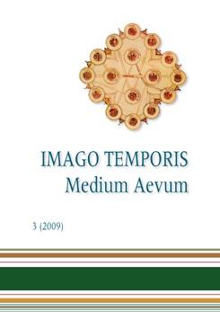 Imago Temporis. Medium Aevum. Núm. 3 (2009)