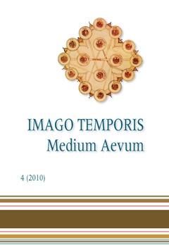 Imago Temporis. Medium Aevum. Núm. 4 (2010)