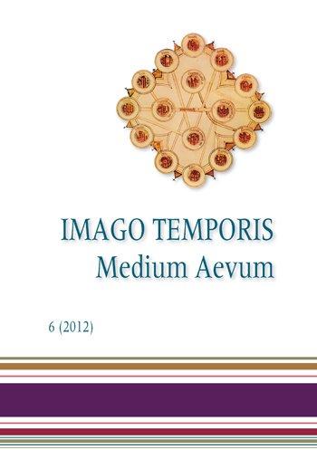 Imago Temporis. Medium Aevum. Núm. 6 (2012)