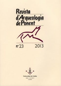 Revista d'Arqueologia de Ponent. Núm. 23.