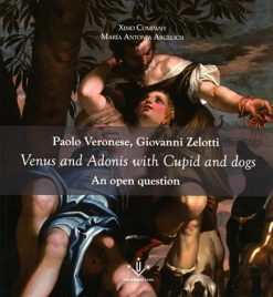 Paolo Veronese, Giovanni Zelotti. Venus and Adonis with Cupid and dogs. An open question.
