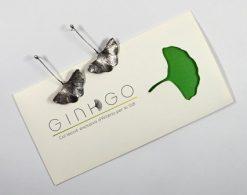 Joies. Arracades llargues Col·lecció Ginkgo.