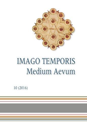 Imago Temporis. Medium Aevum. Núm. 10 (2016)