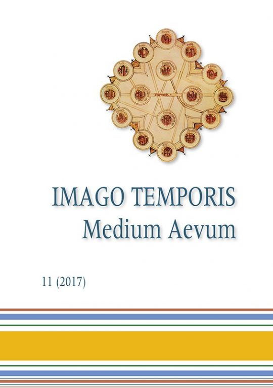 Imago Temporis. Medium Aevum. Núm. 11 (2017)